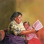 Grandmas Love Poster by Colin Bootman