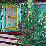 Grandma's Porch Poster