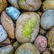 Granite Cobbles Poster