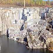 Granite Quarry, Barre, Vermont Poster