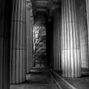 Grant's Tomb Columns Poster
