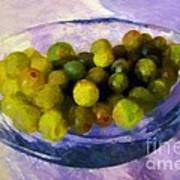 Grapes On The Half Shell Poster