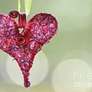 Grateful Heart Poster by Brenda Schwartz