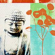 Gratitude Card- Zen Buddha Poster