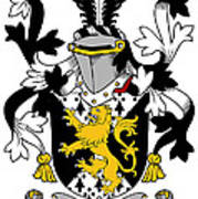 Grattan Coat Of Arms Irish Poster