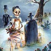 Grave Sight Poster by Heather Calderon