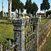 Graveyard Art Poster