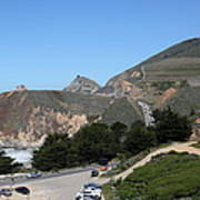 Gray Whale Cove State Beach Montara California 5d22614 Poster by Wingsdomain Art and Photography