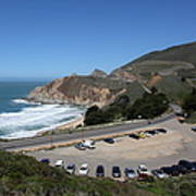 Gray Whale Cove State Beach Montara California 5d22616 Poster by Wingsdomain Art and Photography
