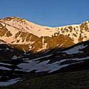 Grays Peak And Torreys Peak Panorama Poster