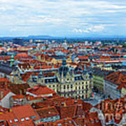 Graz Old Town Poster