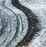 Great Aletsch Glacier Moraine Poster