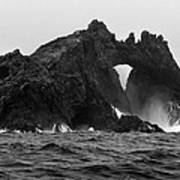 Great Arch On The Farallon Islands Poster