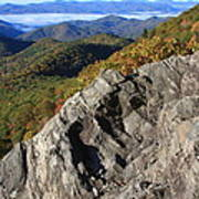 Great Balsam Mountains - Blue Ridge Parkway Poster