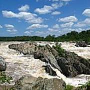 Great Falls On The Potomac Poster
