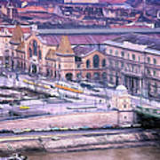Great Market Hall Budapest Poster