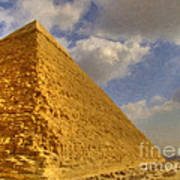 Great Pyramid Painting Poster