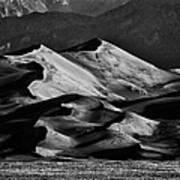 Great Sand Dune National Park At Sunrise Poster