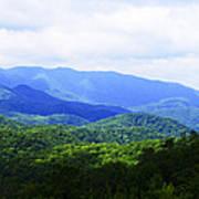 Great Smoky Mountains Poster by Christi Kraft