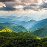 Great Smoky Mountains National Park Nc Western North Carolina Poster