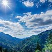 Great Smoky Mountains National Park On North Carolina Tennessee  Poster