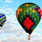 Great Texas Balloon Races Poster