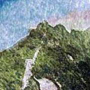 Great Wall 0033 - Watercolor 2 Sl Poster