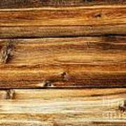 Great Weathered Wood Background Poster