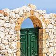 Greek Ancient Architecture Poster