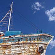 Greek Fishing Boat Poster