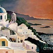 Greek Isles Poster