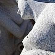 Greek Statues Poster