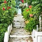 Greek Steps Poster