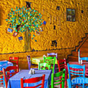 Greek Taverna Poster