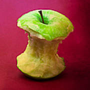 Green Apple Core 1 Poster