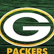 Green Bay Packers Barn Door Poster