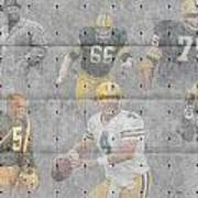 Green Bay Packers Legends Poster