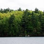 Canoe On Walden Pond Poster