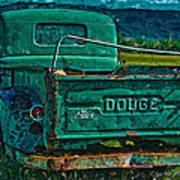 Green Dodge Poster