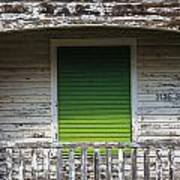 Green Door Galveston Tx  Poster