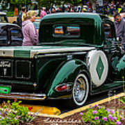 Green Dream Ford Poster