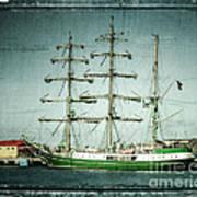 Green Sail Poster