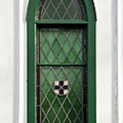Green Window Poster