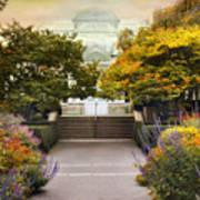 Greenhouse Garden Poster