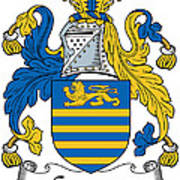 Gregory Coat Of Arms Irish Poster