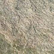 Grey Rock Texture Poster