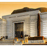 Griffith Observatory - Mike Hope Poster