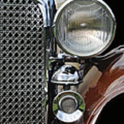 Grill And Headlight Poster