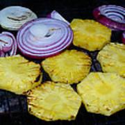 Grilled Veggies #1 Crop 2 Poster