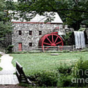 Gristmill Art Poster